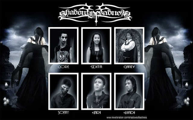 Shadow Of Sadness - ( Band id Bandung - Modern Gothic Black Metal)