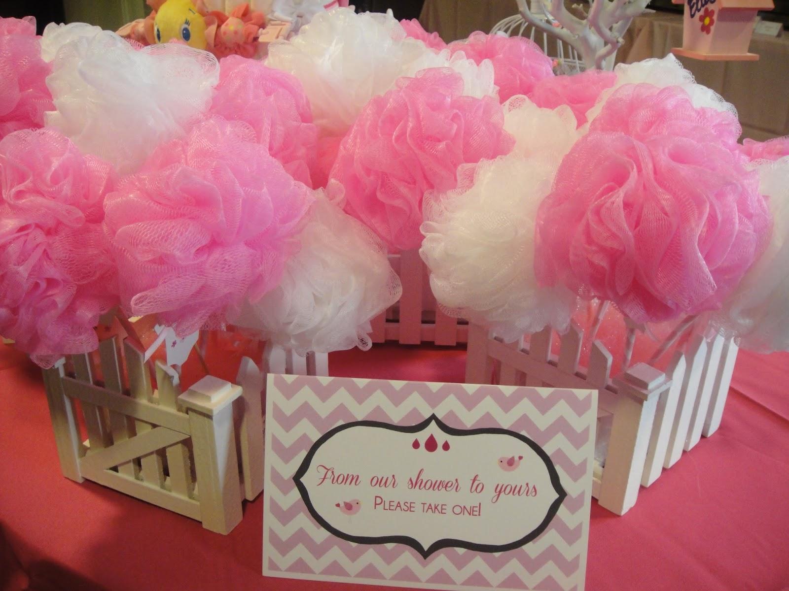 La Design Boutique Pretty In Pink Cherry Blossoms Baby Shower