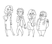 #11 Battlestar Galactica Coloring Page