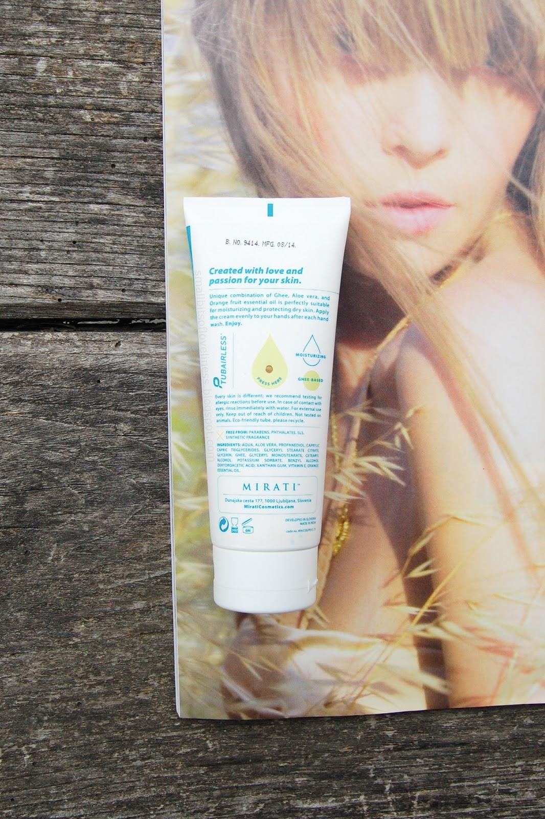 Mirati Hand Cream