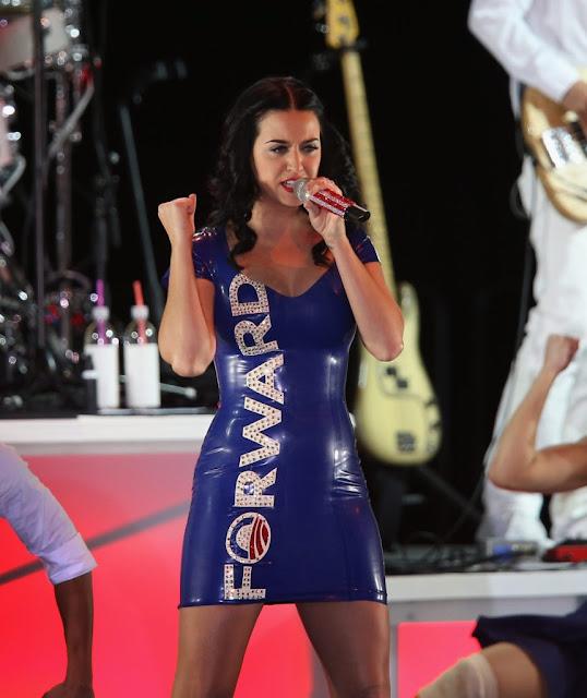 Katy Perry campaign rally Barack Obama