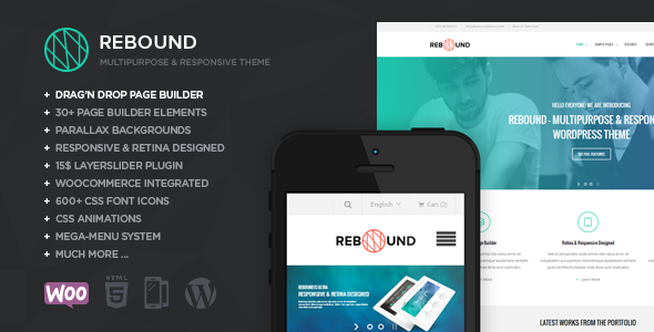 Rebound WordPress Template