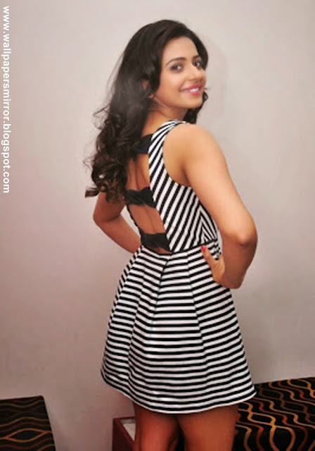 Rakul Preet singh sexy stills in Pandaga chesko