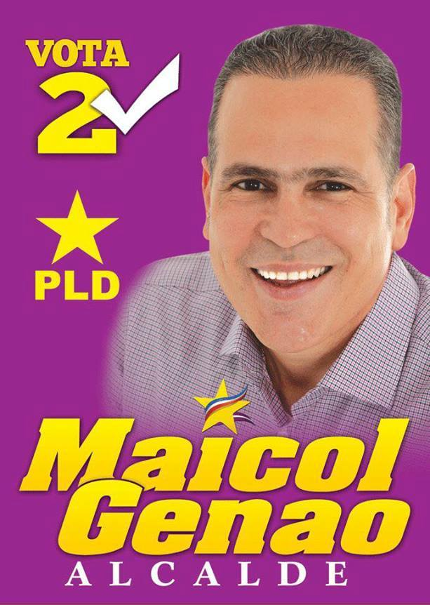 Maicol Genao, Alcalde 2016
