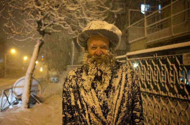 10 января 2013 на Иерусалим обрушился сильнейший снегопад за последние 20 лет