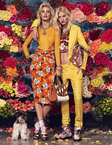 Bloom Town shoot styled Giovanna Battaglia and shot by Sharif Hamza for W Magazine March 2012 via Fashion Gone Rogue