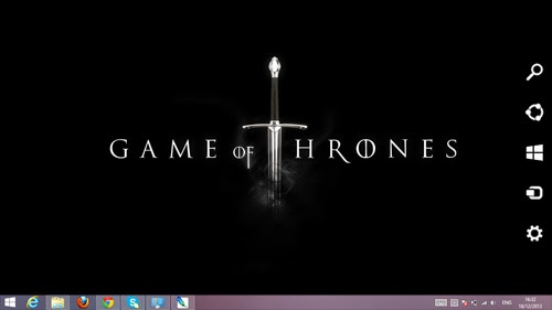 Game Of Thrones Theme For Windows 7 And 8 8.1 9