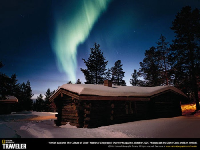 Because of its geographic location, it's also possible to see the Northern Lights from Lapland.