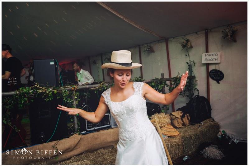 Fancy dress bride