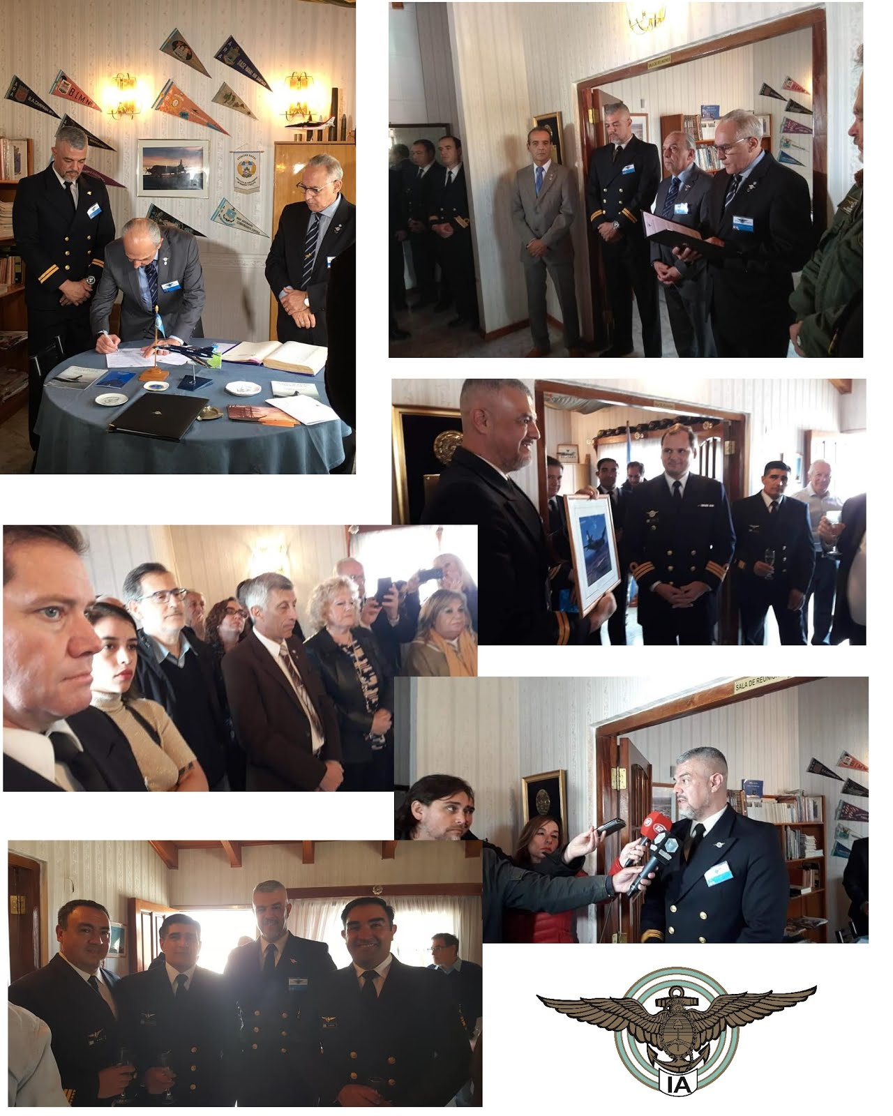 El Instituto Aeronaval instituyó la Delegación Trelew (Chubut)