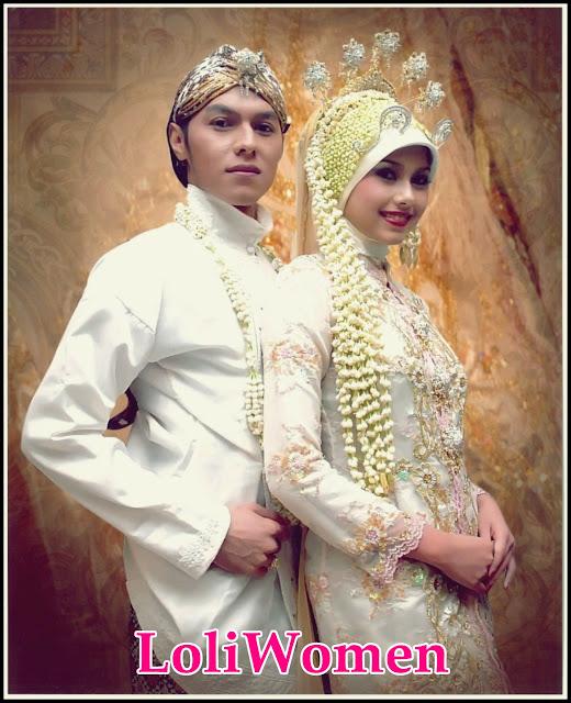 Gambar Model Baju Kebaya Muslim Bejilbab Modern  Loliwomen