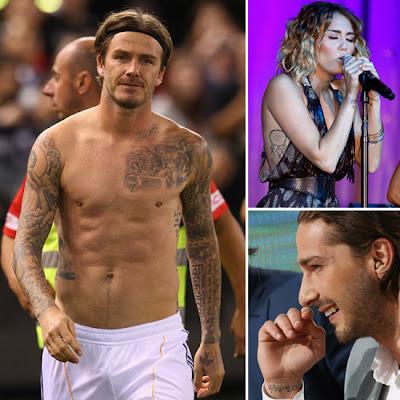 Memorable Celebrity Tattoos
