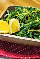Salada de Couve com Laranja (vegana)