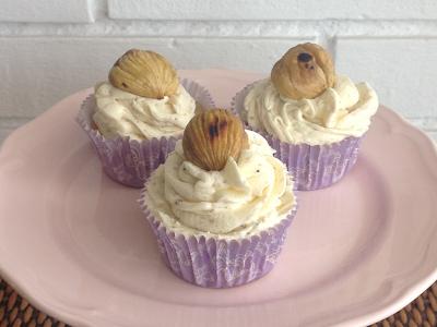 cupcakes de castaña