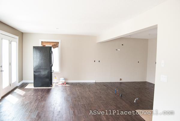 rental house - new hardwood