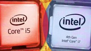 CPU Intel e AMD, i5 e i7