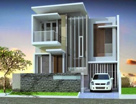 model rumah modern, contoh rumah modern