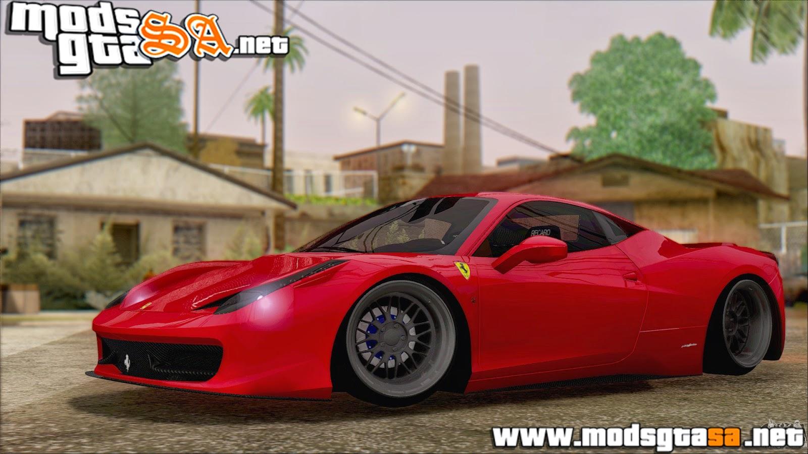 SA - Ferrari 458 Italia