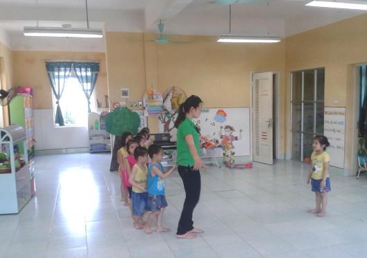 Hoạt động giáo dục thể chất cho trẻ 4 - 5 tuổi
