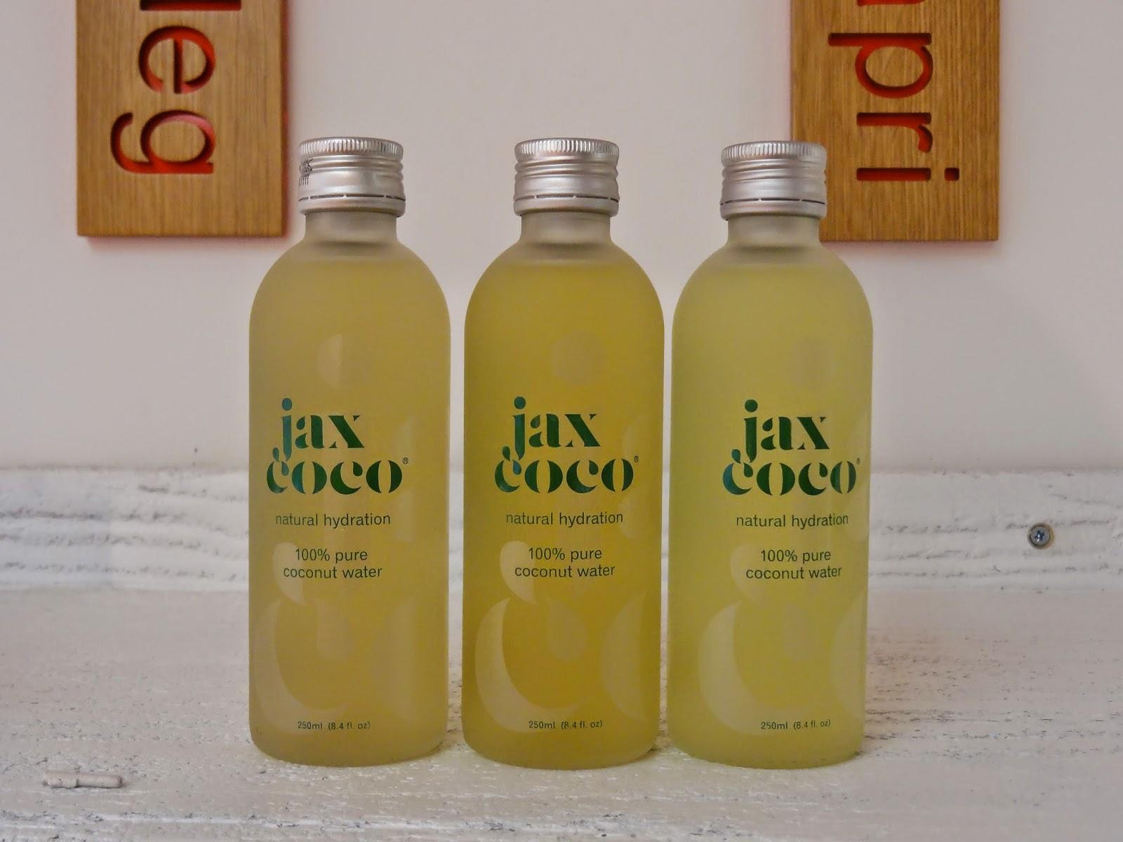Sweaty Betty GF4F 30 Day Sweat Challenge Launch Jax Coco Coconut Water