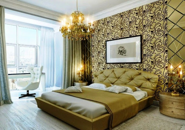 accent wall painting ideas bedroom