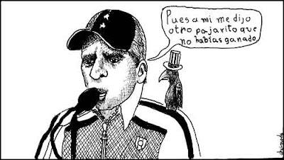 pajarito Venezuela elecciones