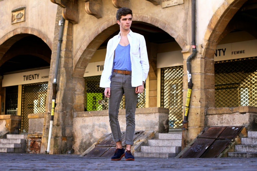 BLOG-MODE-HOMME-Gap-chemise-Dries-Van-Noten-Ceninture-CheapMonday-Jeans-Hermès-Bracelet-Binome-Preppy-Men-Fashion-Moderer-Shoes