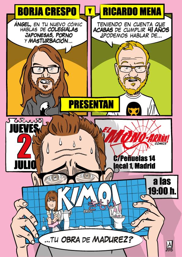 Presentación Kimoi Madrid