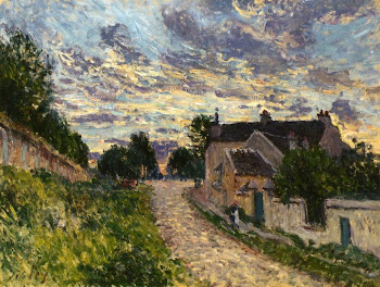 Sisley: A Path in Louveciennes
