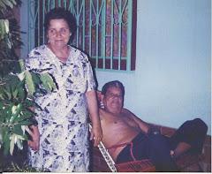 Mi hermana Clotilde Sánchez Duarte y su esposo mi cuñado Rodrigo Valderrama: