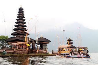 Bedugul & Bratan Lake, Bali Indonesia