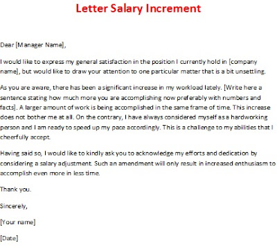 free letter salary increament, letter salary increament picture, best salary increase letter