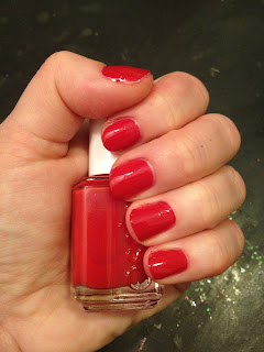 Essie, Essie nail polish, Essie nail lacquer, Essie Jelly Apple, Valentine's Day, nail, nails, nail polish, polish, lacquer, nail lacquer, mani, manicure