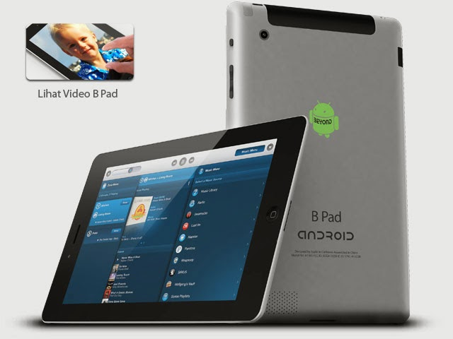 tablet android byond b pad mengusung os android 2 3 gingerbread dan