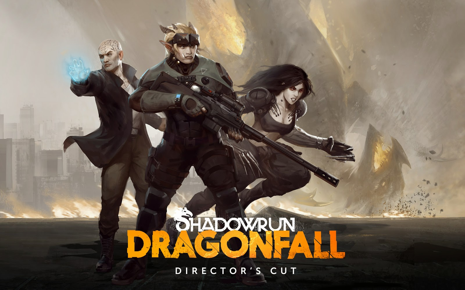 Shadowrun: Dragonfall Gameplay