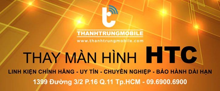 Thay màn hình HTC One X, 8X, 8S, Butterfly, Butterfly S...