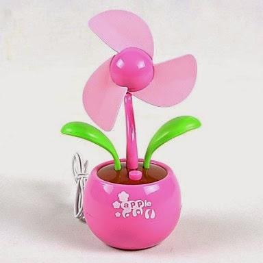 Flor Ventilador USB