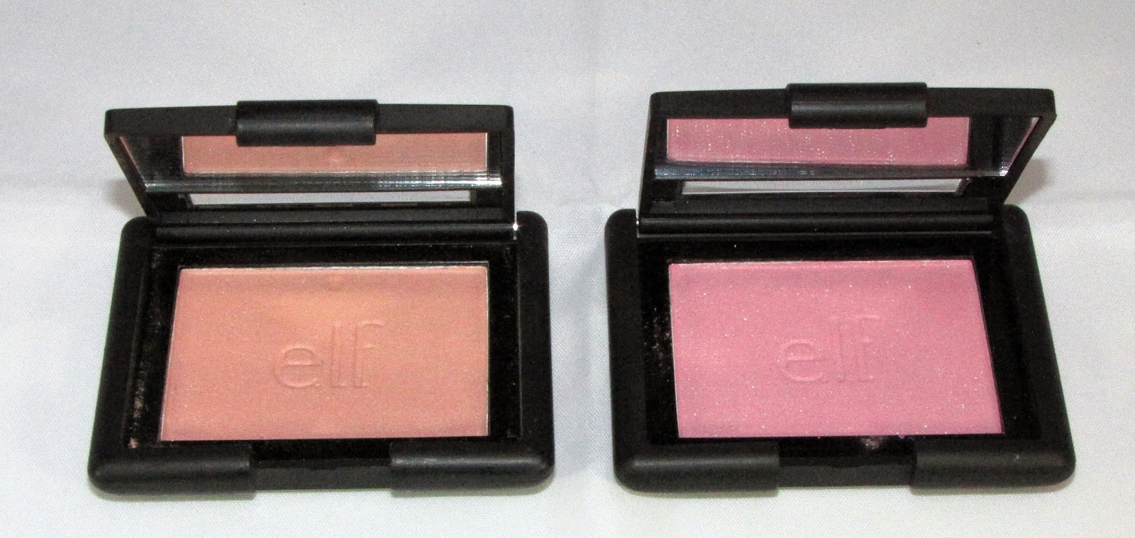 ELF Studio Blush in Tickled Pink and Fuchsia Fusion