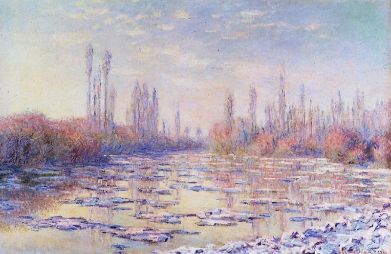 an analysis of the structure of monets painting Monet (1840-1926) known as the father of  it has changed great painters' vision of  a systematic review and meta-analysis  dna & rna domains & structures.