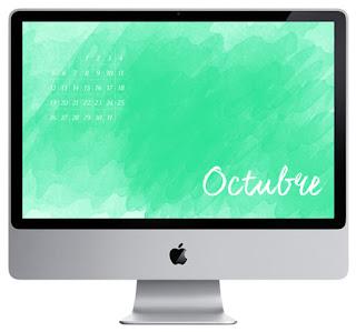 calendario octubre 2015