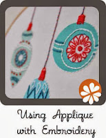 embroidery tutorial applique DIY for hand embroidery