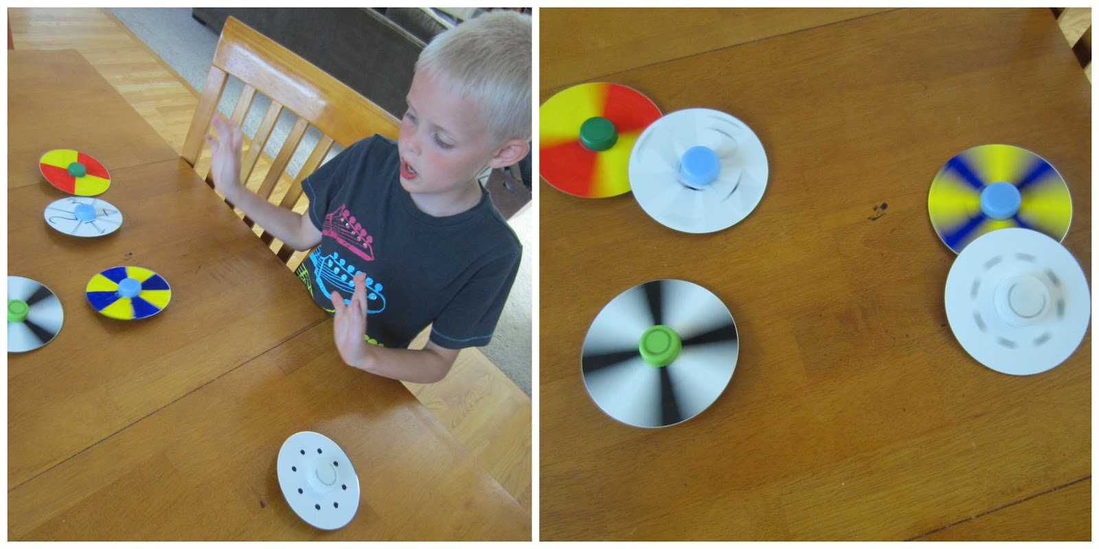 how to make a spinning top that spins for long