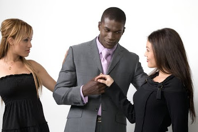 Why Women Compete for Men - White women and black man and dating