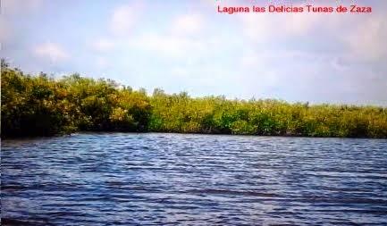 Laguna Las Delicias tunas de Zaza