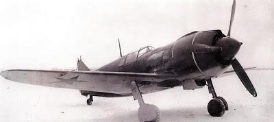 Ла 5 раннего выпуска с мотором М 82