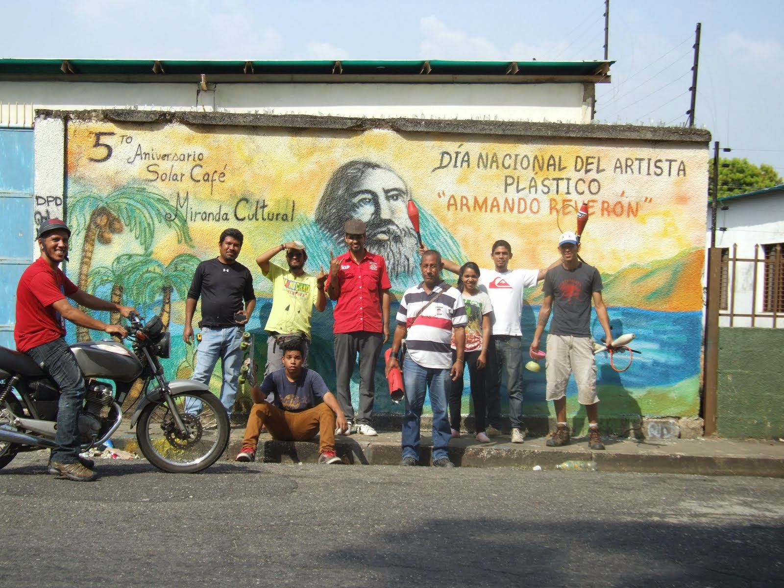 """Mural """"Dia del Artista Plastico"""""""