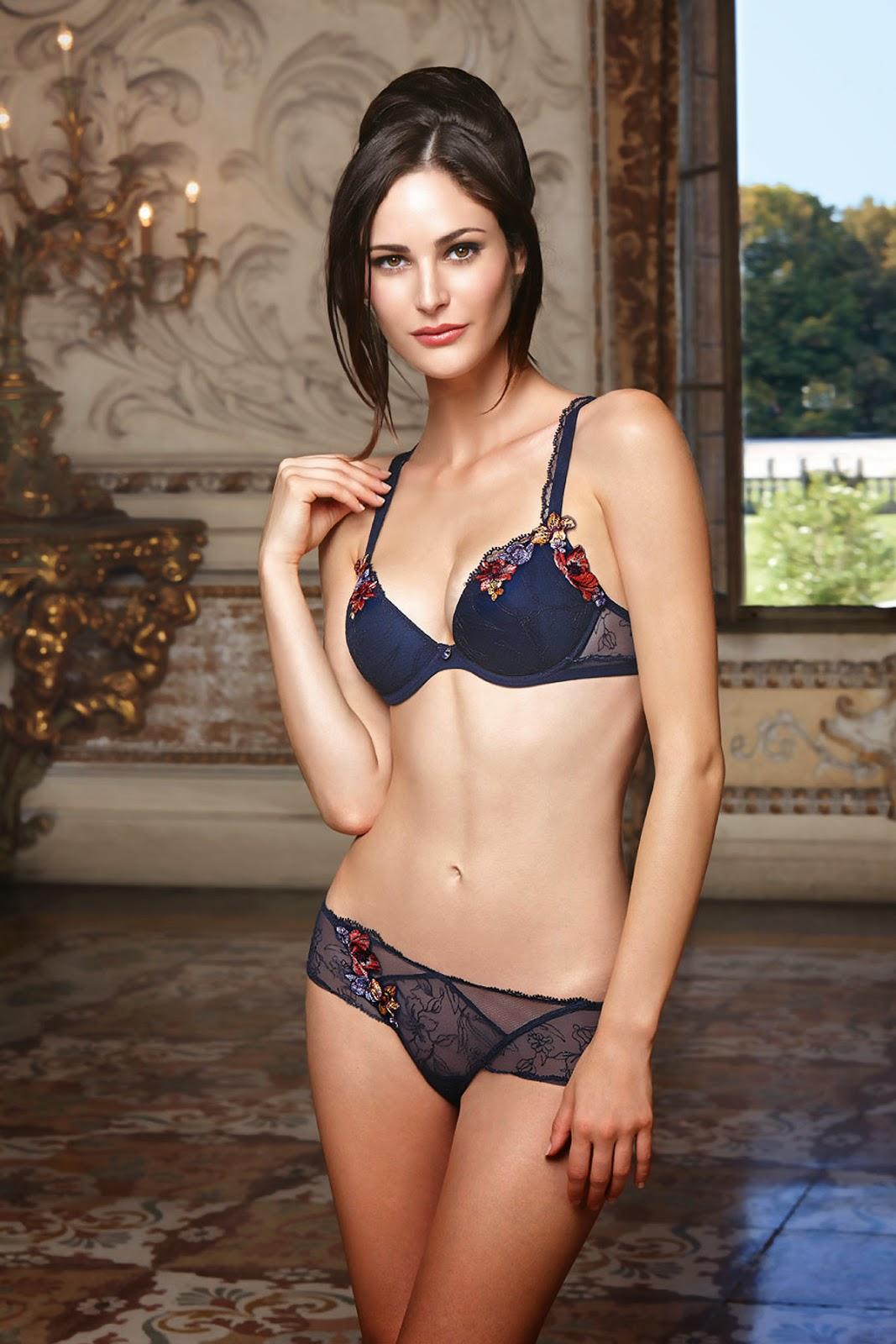 Model Photos Maud Le Fort Lise Charmel Lingerie 2014