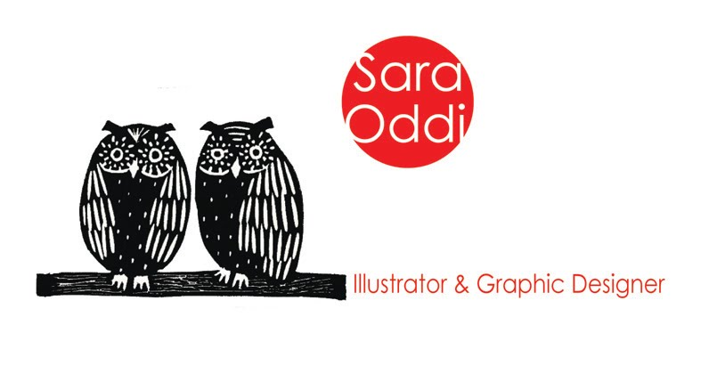 Sara Oddi  Illustrator & Graphic Designer