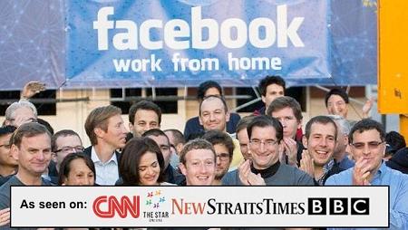 Facebook Bayar Warga Indonesia $247 USD/hari untuk Bekerja dari Rumah