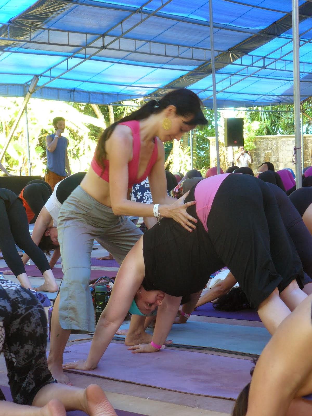 Bali Spirit Festival 2013 assistindo a Twee Merrigan & Simon Park